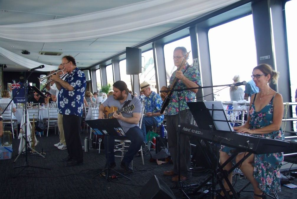 CD Launch on the Harbour